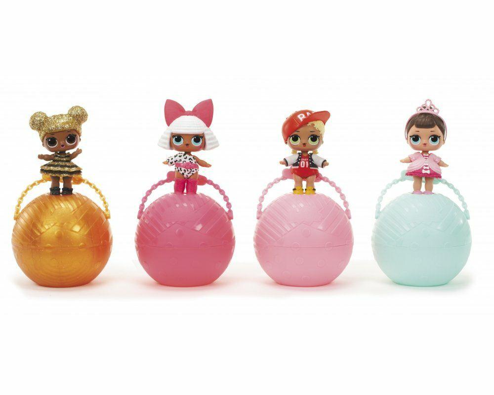 Куклы лол сюрпризы в шариках