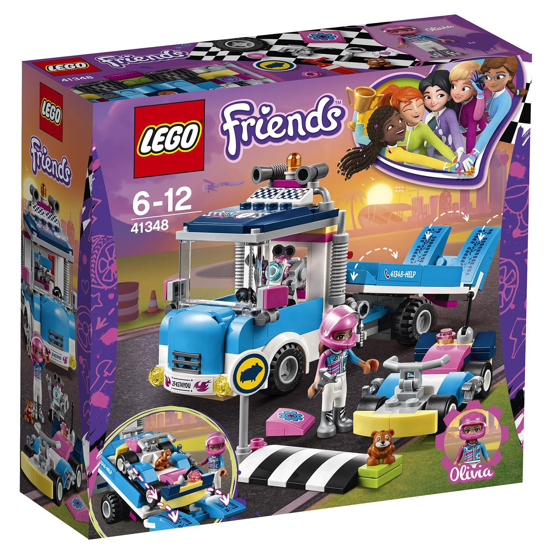 Конструктор lego friends грузовик техобслуживания