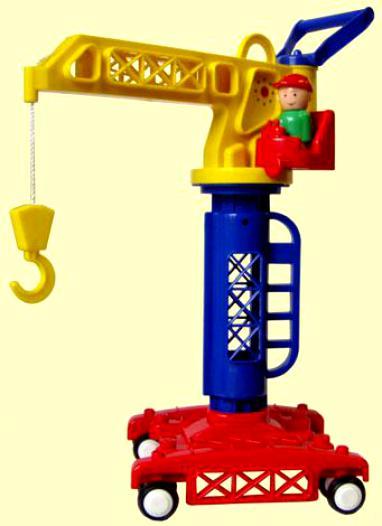 Кран строительный игрушка пк форма